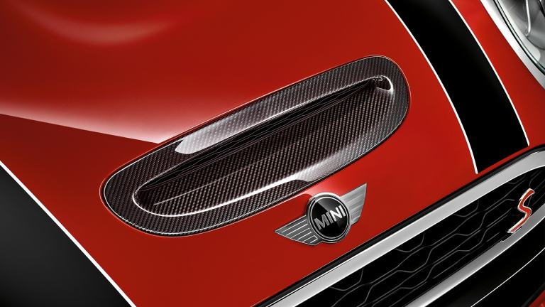 JCW Carbon Air Inlet Trim