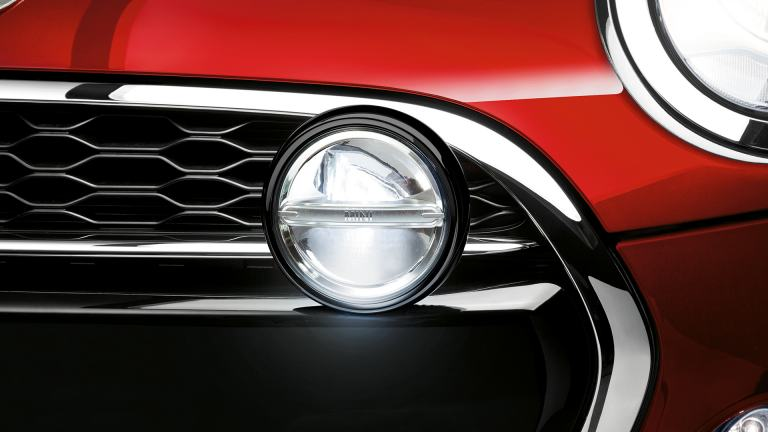 Auxiliary Headlights in black
