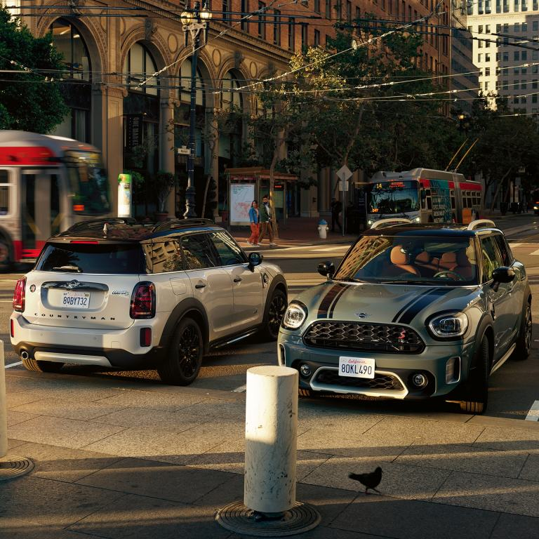 New MINI COUNTRYMAN – MINI COOPER SE COUNTRYMAN ALL4 – front view