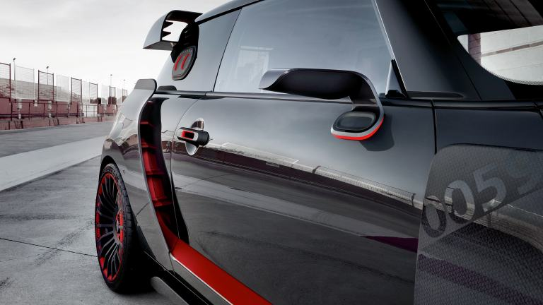 MINI John Cooper Works GP Concept – rear view